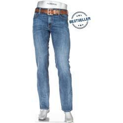 Photo of Alberto Jeans, masculino, algodão stretch, azul Albertoalberto