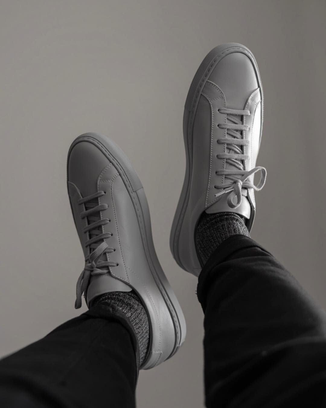 Light Gray Common Projects Achilles Low