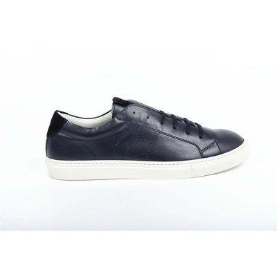 Versace 19.69 Abbigliamento Sportivo SRL Milano Italia Mens Sneaker 5422 Anil Navy Camoscio Navy