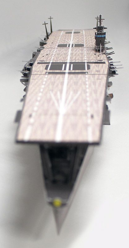 """Paper model workshop"" of Paper Craft - Aircraft Carrier ""Akagi"" 1/350 index page"