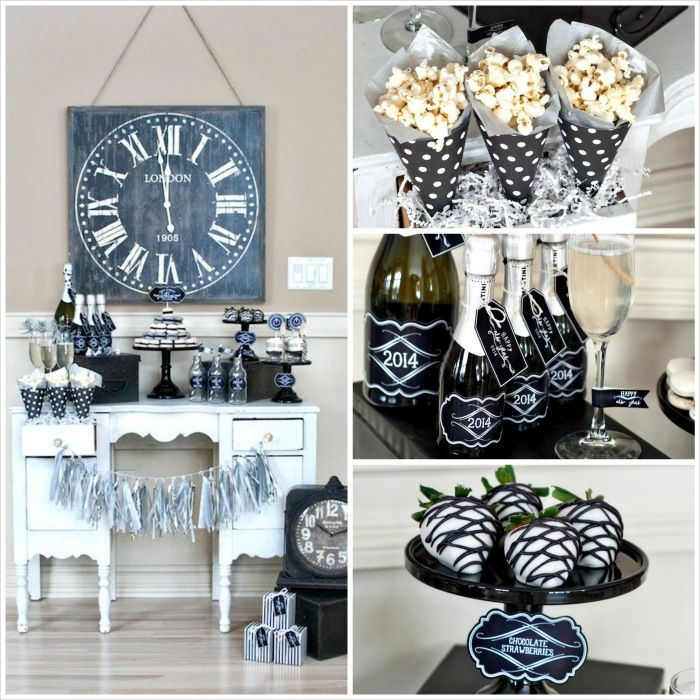 Time To Party New Years Celebration Vintage Style Countdown Diy New Years Party New Year S Eve Celebrations New Years Eve Party