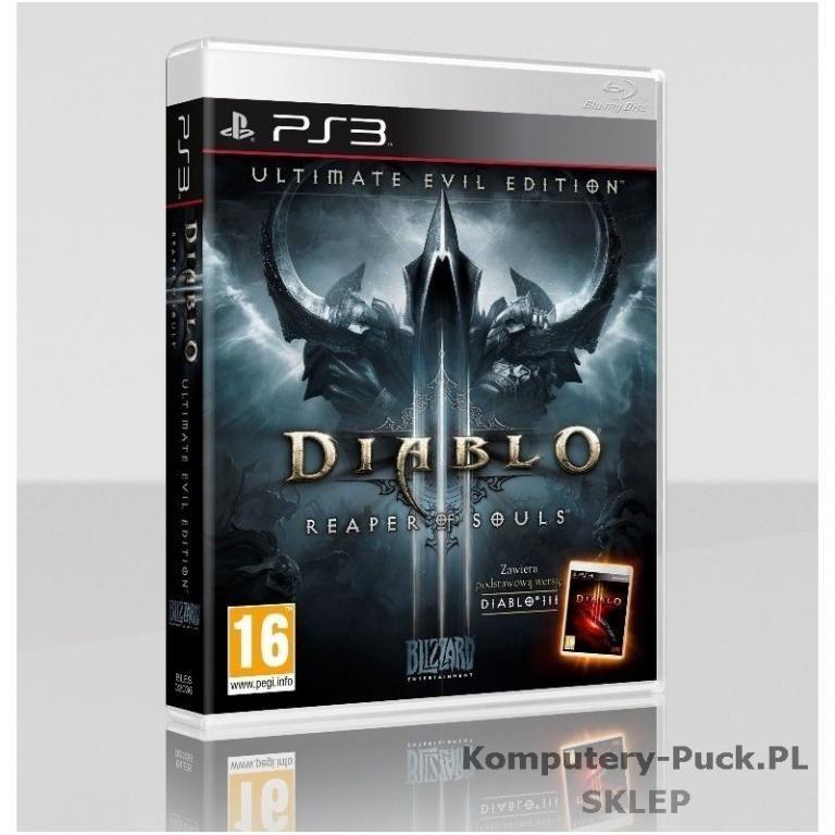 Diablo 3 Ultimate Evil Edition Ps3 Pl Sklep Ab Kom 4622133490 Oficjalne Archiwum Allegro Evil Diablo Diablo 3