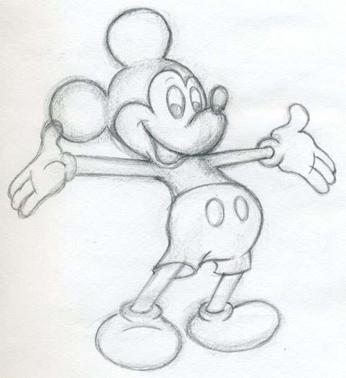 Mickey Mouse Zeichnen Anleitung Dekoking Com 1 Disney