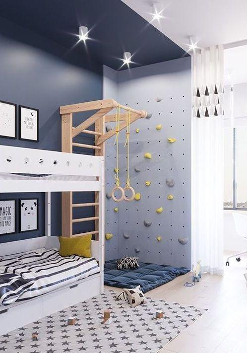 Практичный дизайн детской комнаты своими руками