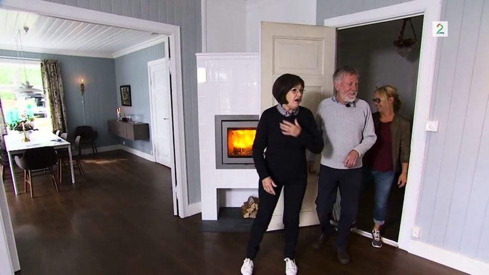 Familien trodde ikke sine egne øyne: - Er dette vårt hus?