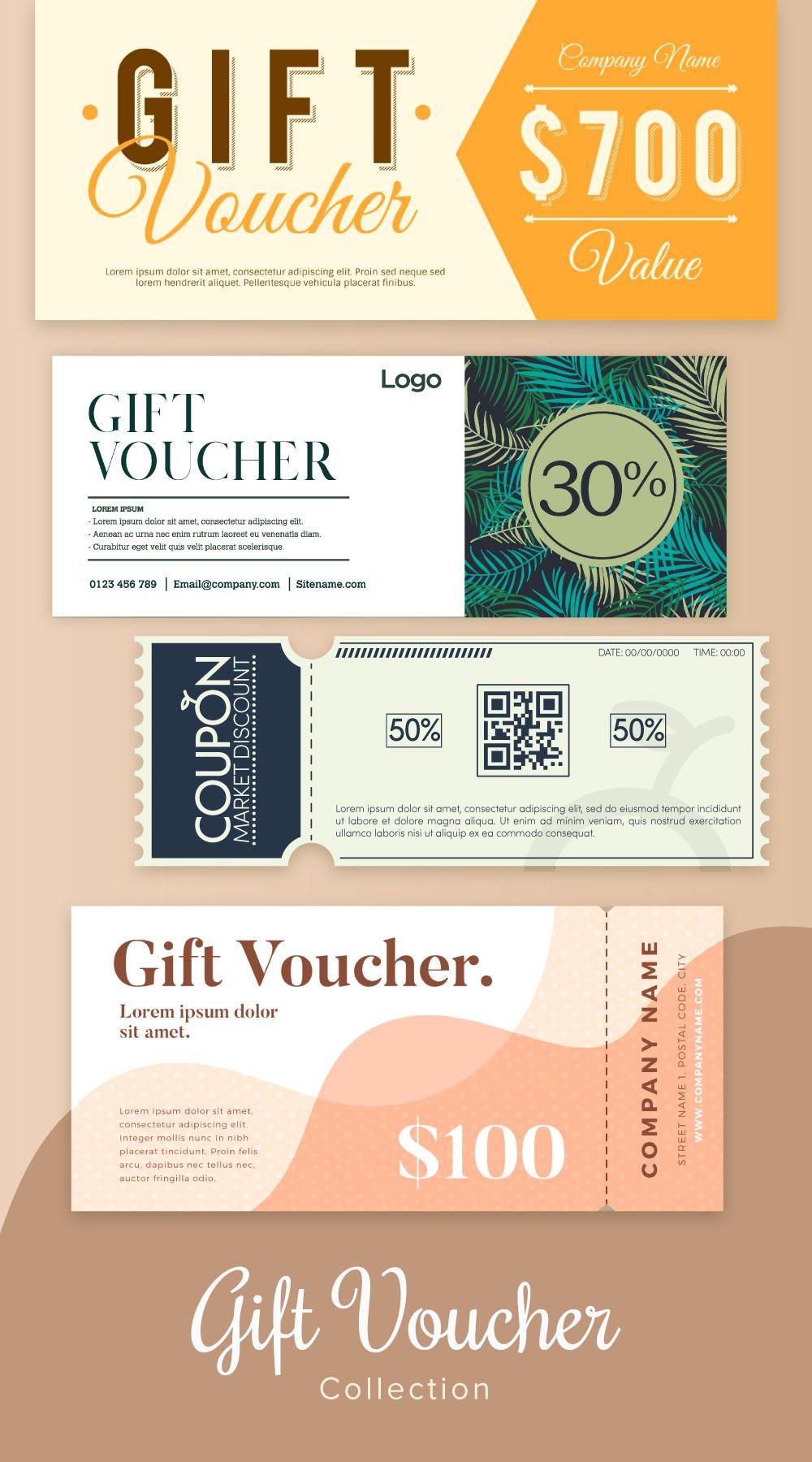 Freepik collection gift voucher in 2020 gift voucher