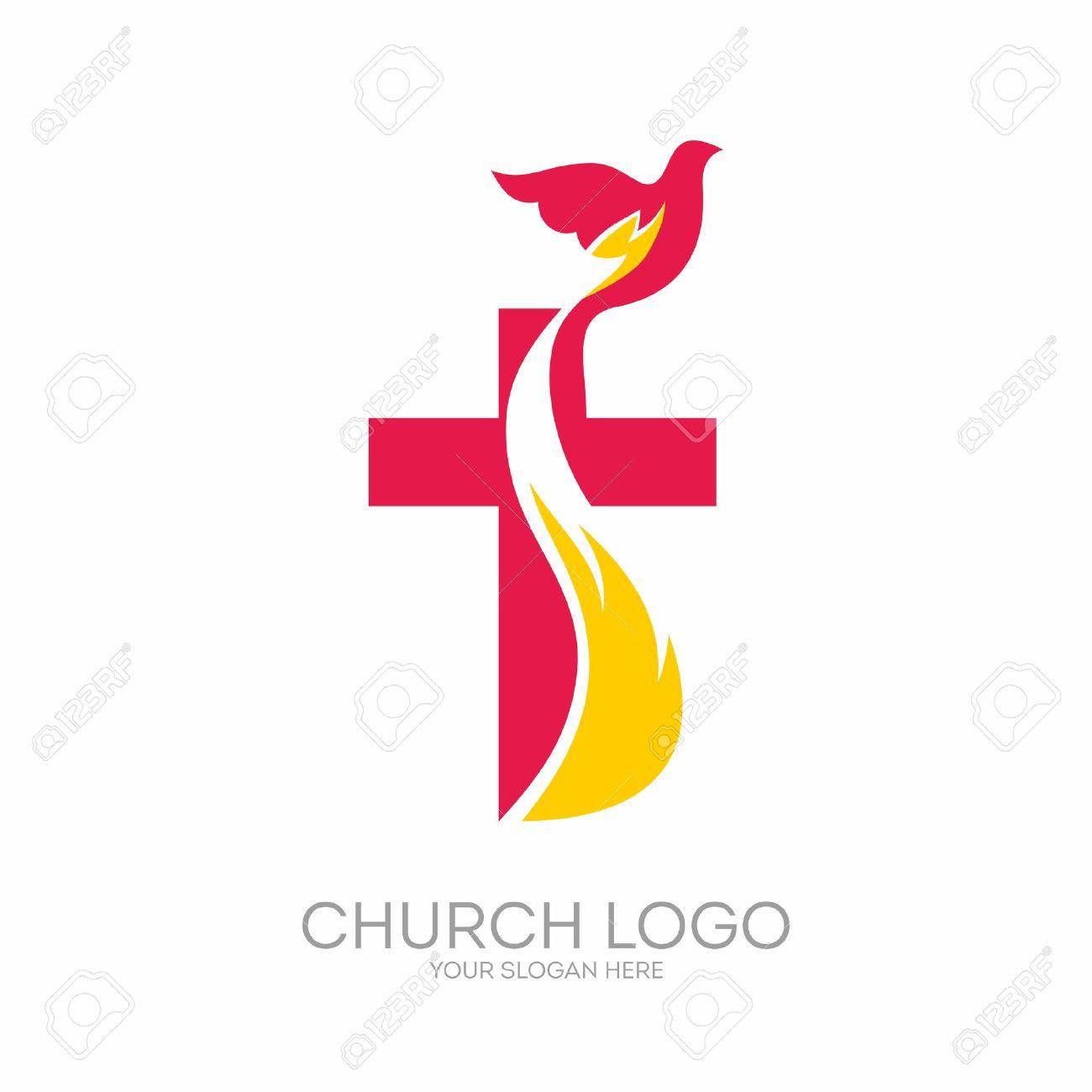 Stock Vector Logotipo de la iglesia, Logos de iglesias y