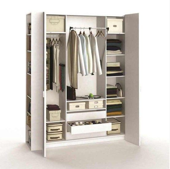 sublime armoire dressing 4 portes organisez votre chambre coucher avec une armoire. Black Bedroom Furniture Sets. Home Design Ideas