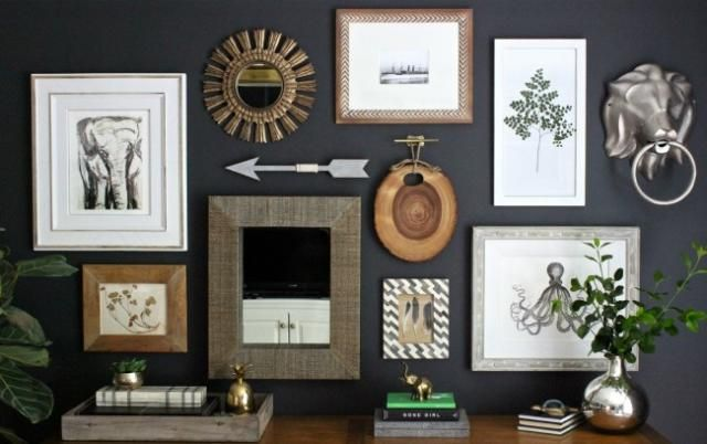 6 Steps To Creating An Eclectic Gallery Wall: Think Thematically