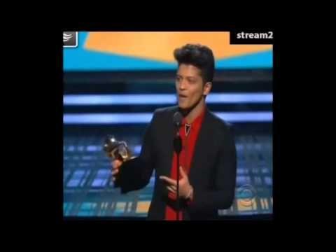 Bruno Mars Wins Best Pop Vocal Album Grammys 2014