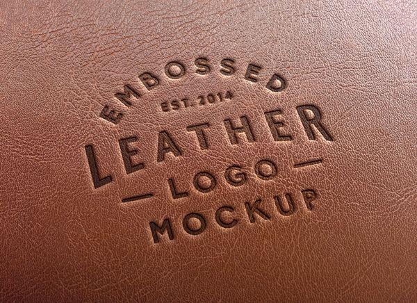 Download Leather Stamping Logo Mockup 2 Graphicburger Free Logo Mockup Logo Mockup Free Logo Mockup Psd