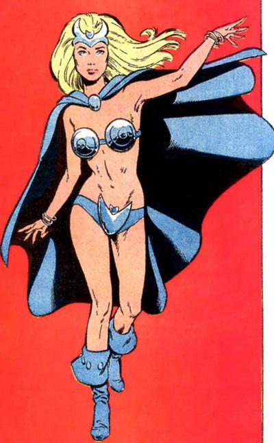 Jennifer Kale (Character) - Comic Vine Sorceress aide to MAN