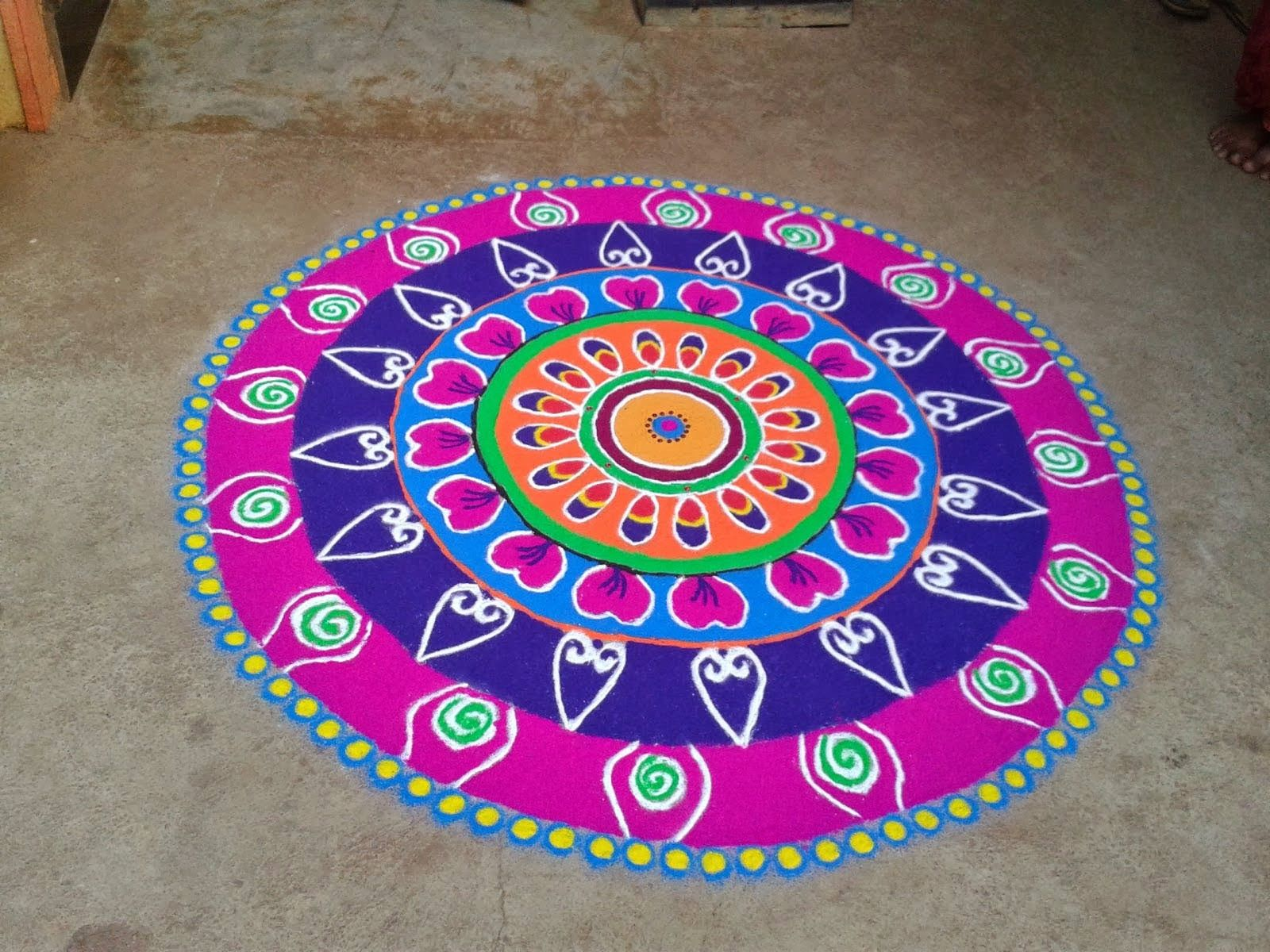 photo Top 10 North Indian Rangoli Designs To Try In 2019
