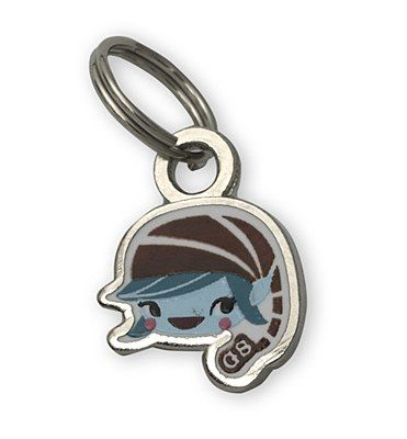 """Brownie Elf Charm - Add this adorable mini charm to the Heart Link Charm bracelet. Jump ring on top. Silvertone iron with epoxy. 3/8"""". Imported.   - www.gscocshop.org - $6.00"""