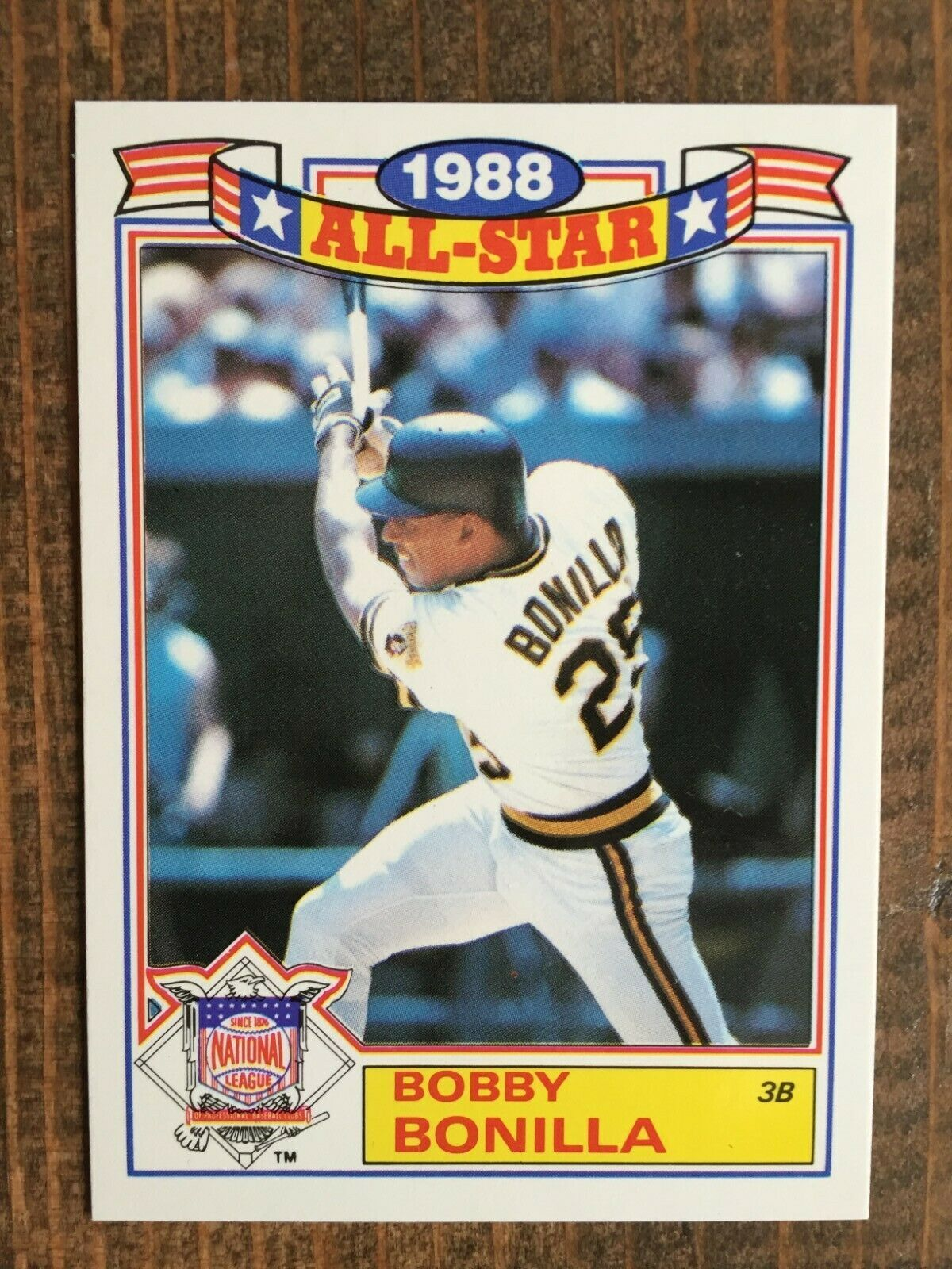 1989 Topps All Star Commemorative 15 Bobby Bonilla Pittsburgh Pirates Nm Ebay In 2020 Pittsburgh Pirates All Star Pittsburgh