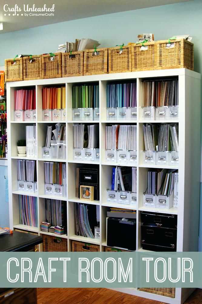 Bon Recollections Craft Room Storage Furniture Tour Organizational Ideas