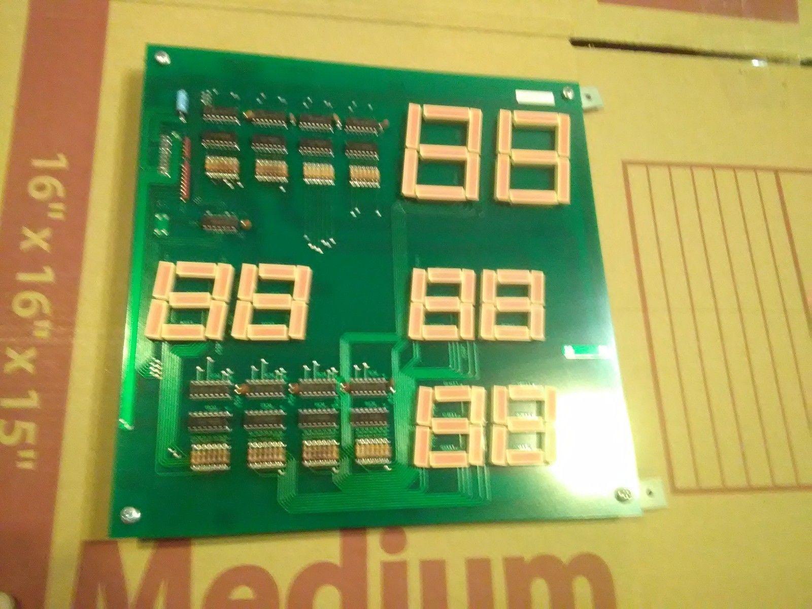 Dino Bonk Arcade Redemption Scoreboard Pcb Working 1 Vintage Circuit