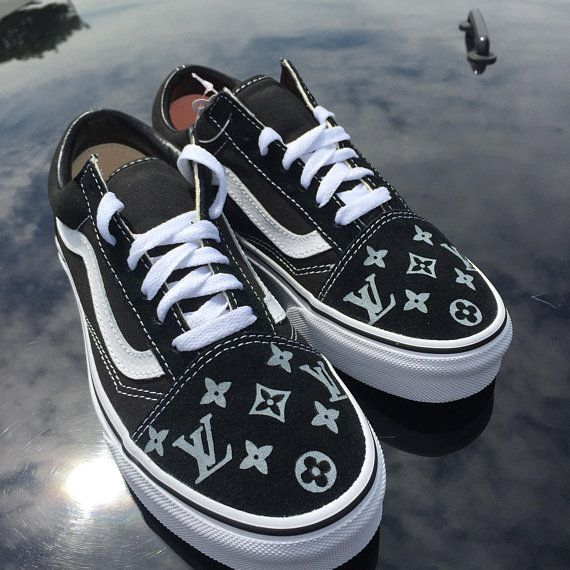 d9dcbcfda1 Custom Vans Louis Vuitton in 2019