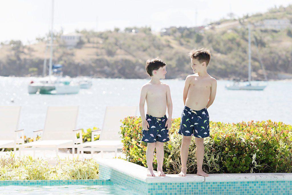 3f5ff91671713 Tortola Swim Trunks - Sunshine on a Rainy Day - The Beaufort Bonnet Company