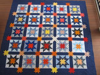 Sewing Out of My Comfort Zone: Mark's Star Quilt, Blogger's Quilt Festival Entry