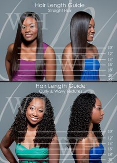 How Long Is 10 Inch Hair Weave Hair Extension Lengths Hair Inches Hair Lengths