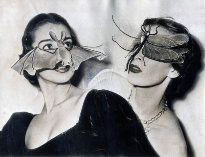 Retronaut - 1950: Bat and insect masks