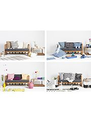 Bayamo 2er Sofa Toddler Bed Home Decor Bed