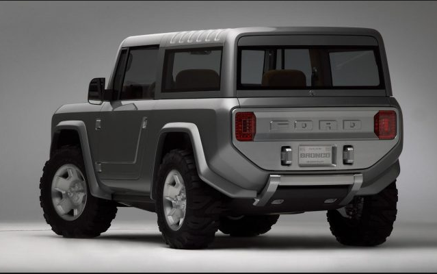 New Ford Bronco From Ford Motor Company will arrive soon