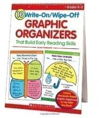 beydaforbooks.com: 10 Write-On/Wipe-Off Graphic Organizers That Build Early Reading Skills by Charlesworth, Liza: 9780439827737: Scholastic Teaching Resources