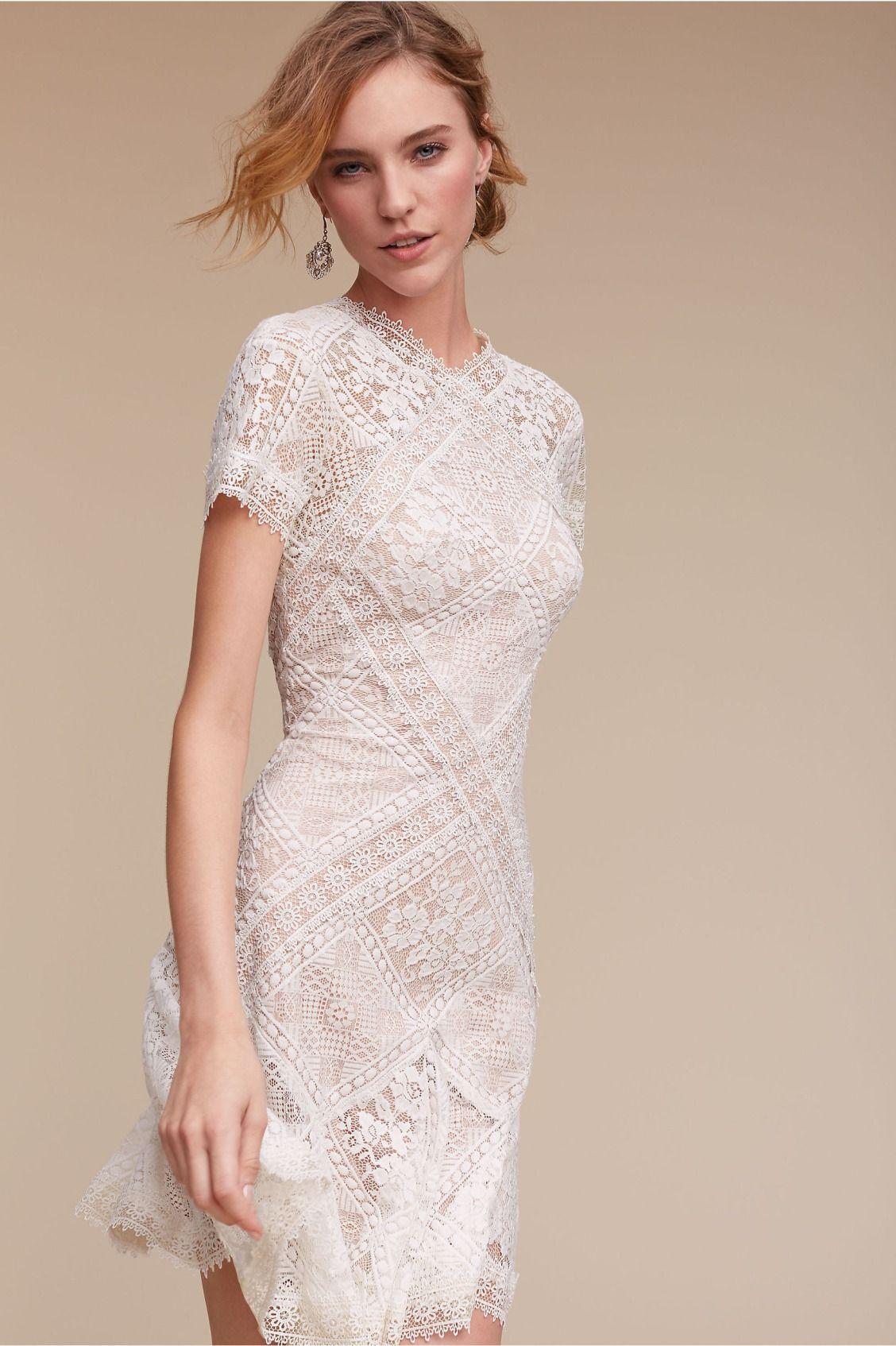 Modern and feminine hudson dress from bhldn all the frills