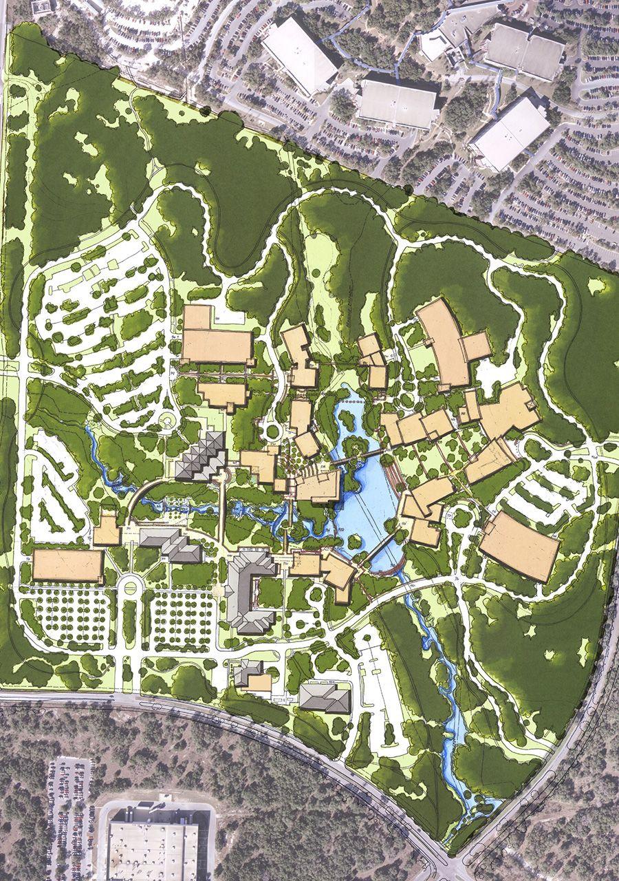 Northwest Vista College Master Plan. Designed by Alamo Architects ...