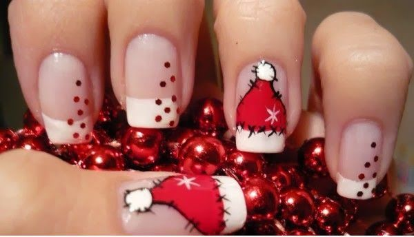 Pin By Mama Z On Nails Christmas Nails Christmas Nail Art Cute