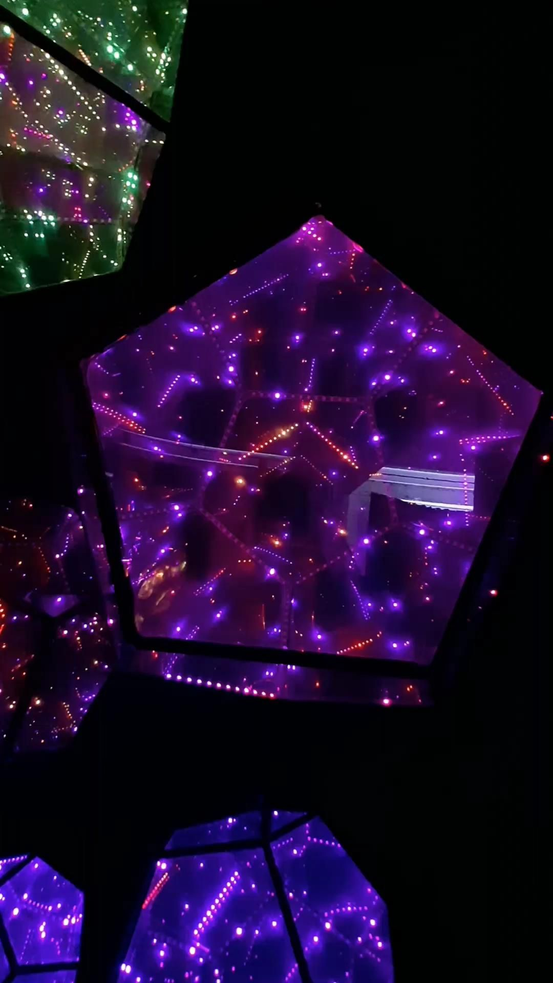 light installation | dodecahedron led project | diy infinity dodecahedron | deeplight dodecahedron