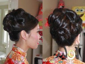 تسريحات شعر صينية اجمل التسريحات للشعر الصينية جديدة 2014 عالم حواء تسريحات 2015 Wedding Hair And Makeup Beautiful Bridal Makeup Bridal Makeup Pictures