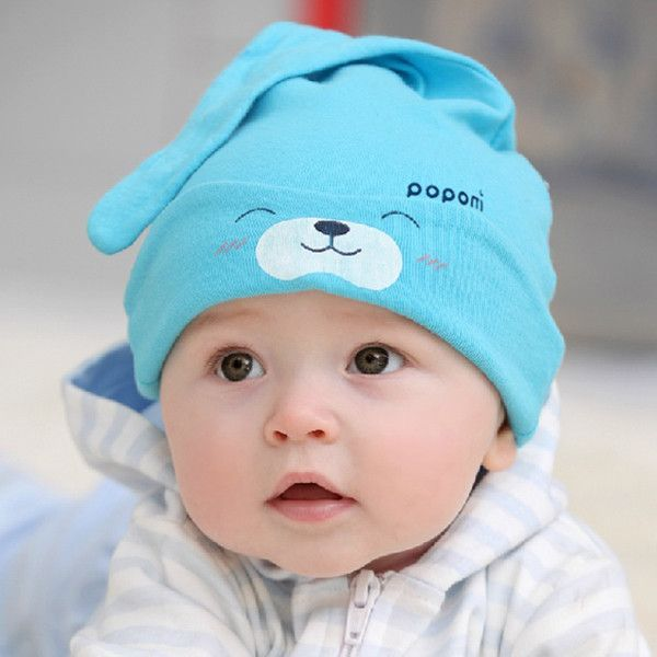 Cap Child Cartoon Caps For Newborns Unisex Toddler Baby Boy Girl Hats  Infant Cotton Soft Cute Hat Cap Beanie CY 5e9bed26fc94