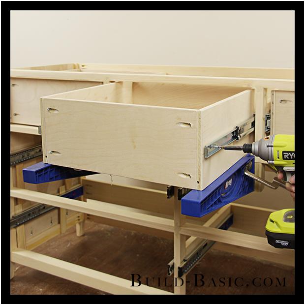 Build A Diy  Drawer Dresser By Build