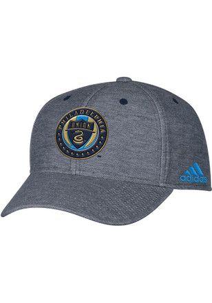 the best attitude 15ee0 5f191 Adidas Philadelphia Union Mens Grey Heather Fashion Adjustable Hat