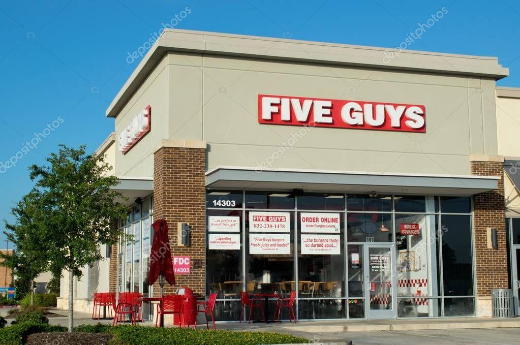 Houston Texas Usa 2019 Five Guys Burgers Fries Has Been - Stock Photo , #Ad, #Usa, #Houston, #Texas, #Guys #AD