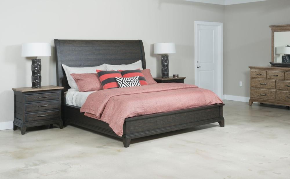Kincaid Furniture Bedroom Eastburn Sleigh King Bed