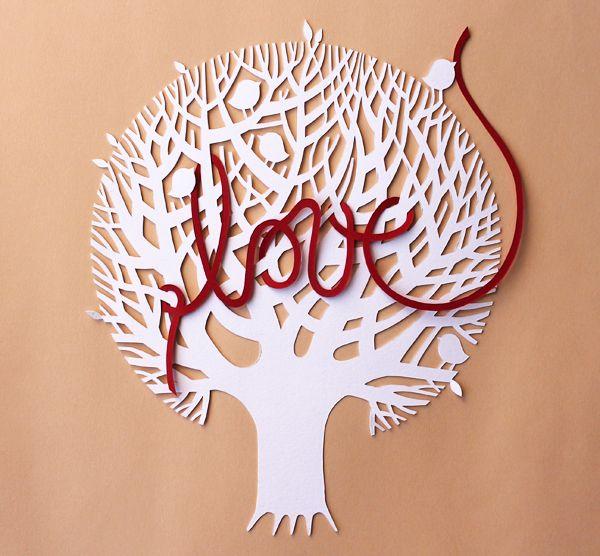 giochi di carta: (I) love (papercutting)
