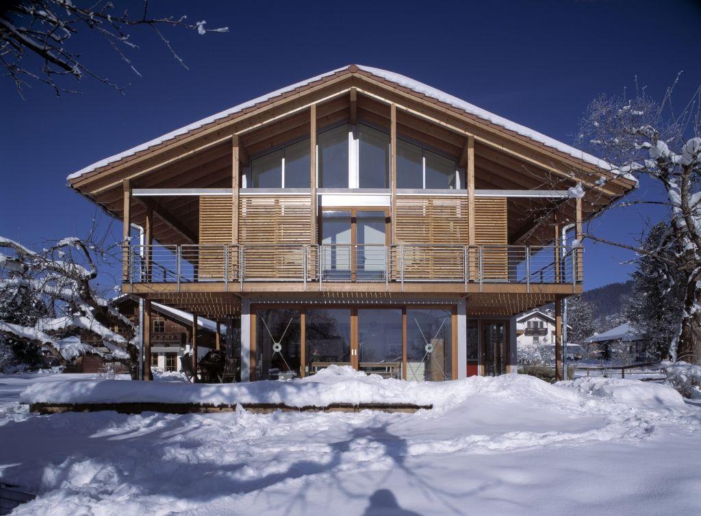 Ökologisch und gesund bauen mit Bau Fritz Haus Schauer