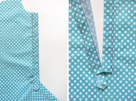 Photo of free popover placket and tutorial