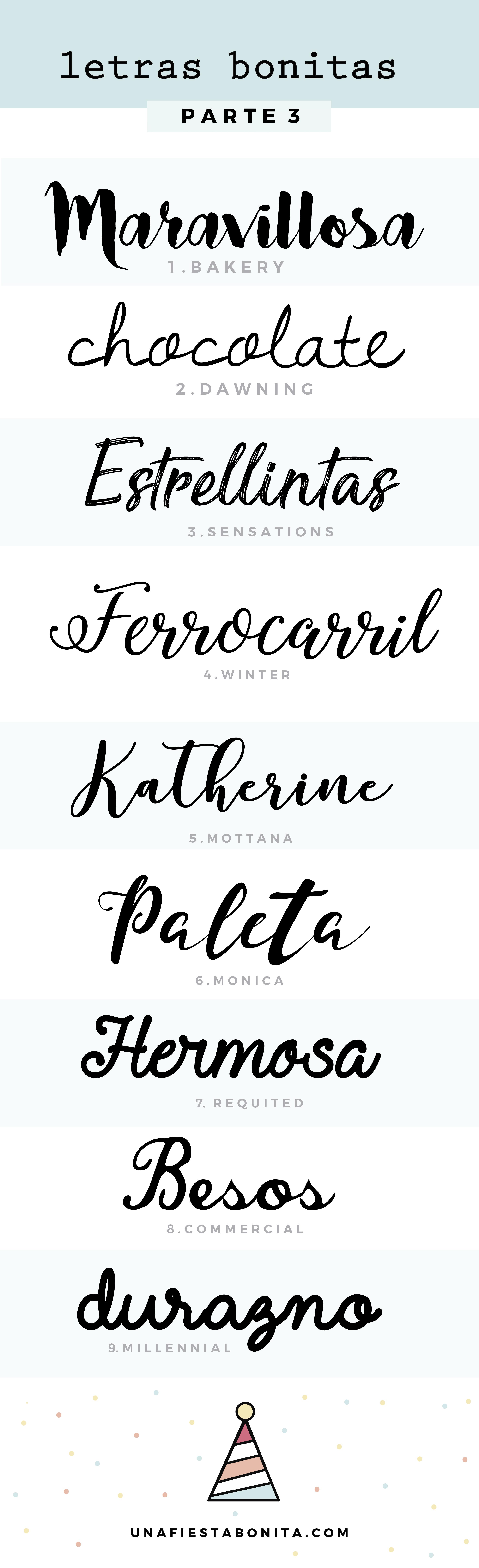 Tipos De Letras Para Invitaciones Tipos De Letras Letras Para Hacer Y Fuente De Letras