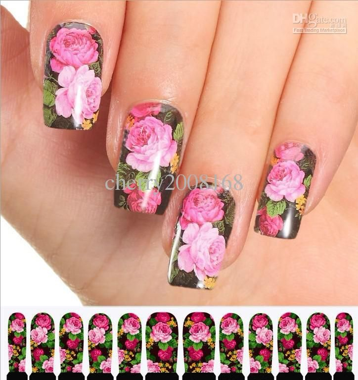 Opi Nail Stickers C8 01 Seal Designs Art Decoration Salon Free From Cherry2008168
