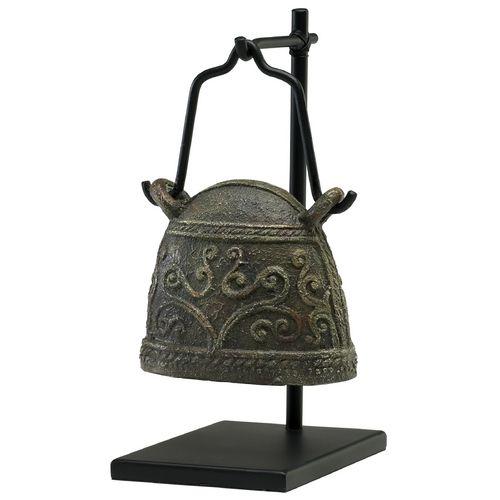 Cyan Design Livestock Bell Rust & Verde Sculpture | 02858 | Destination Lighting