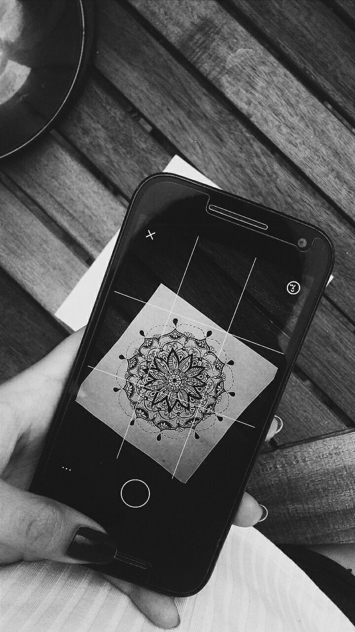 #mandala #fotography #wallpaper #byn