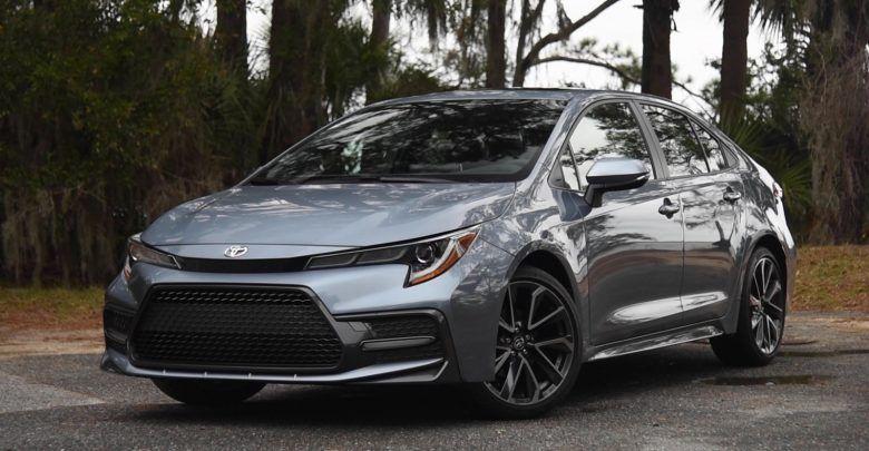 Toyota corolla interior 2020 review Toyota corolla