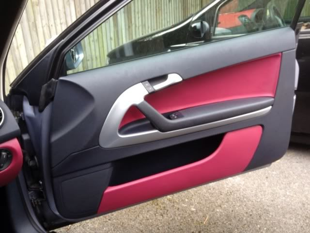 My custom interior work. - Corsa Sport - for Vauxhall and Opel Corsa ...