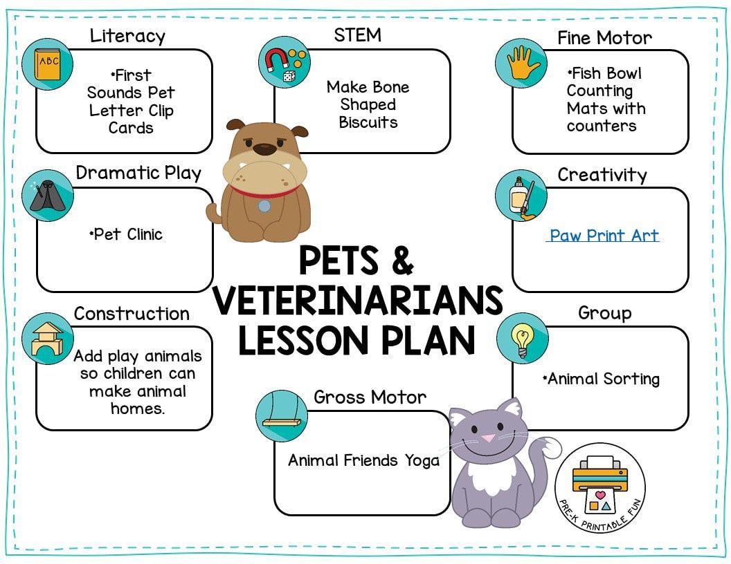 Pets Amp Vets Theme Week