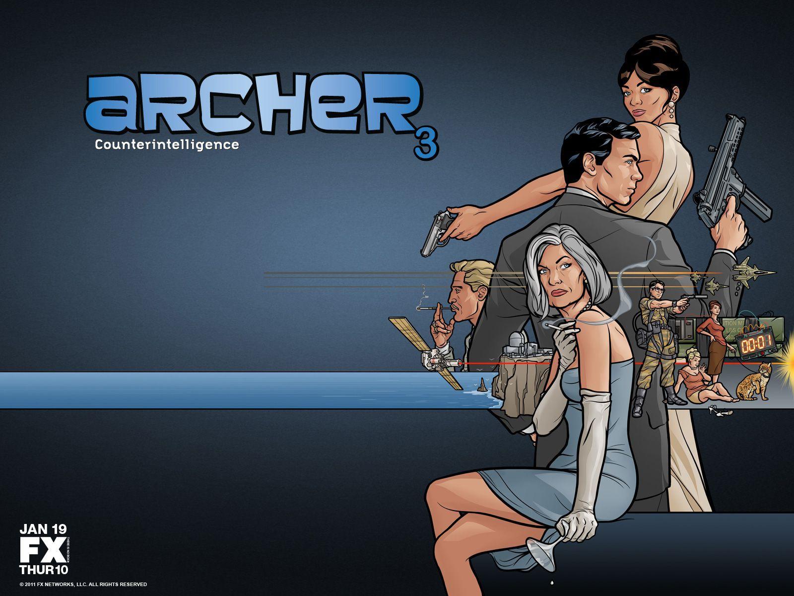 Animated Series Archer Wallpaper Archer Tv Series Archer Tv Show Top Tv Shows